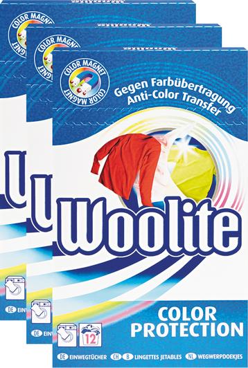 Woolite Einwegtücher Color Protection