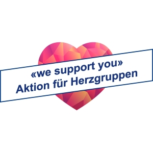 Doetsch Grether AG: Omega-life unterstützt Herzgruppen